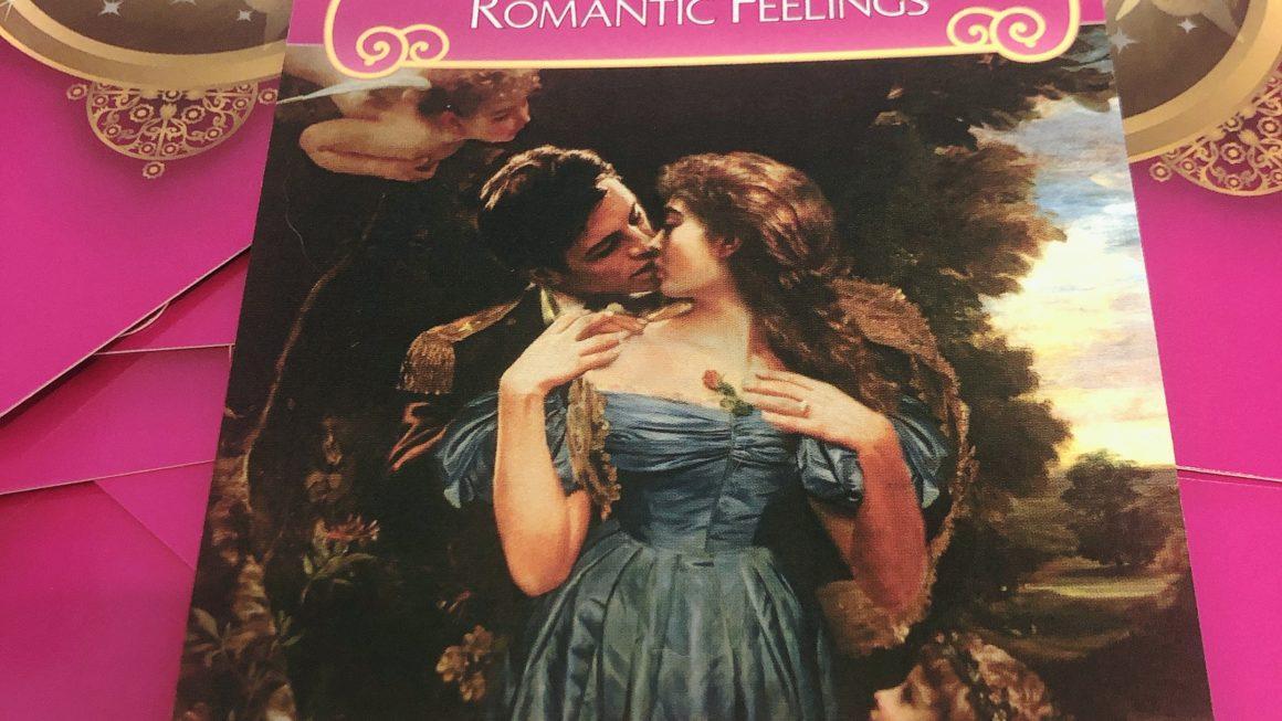 胸のときめきRomantic Feelings<オラクルカードの紹介>